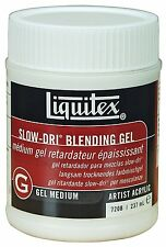 Liquitex Professional Slow-dri Blending Gel Medium 237ml Artist Paints Quality
