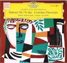 Beethoven: Sinfonia No. 7, Ove. Corioliano  / Bohm, Berliner - LP Dgg LPM 18 514