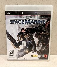 2011 Ps3 Playstation 3 Warhammer 40,000 Space Marine Complete Cleaned Tested
