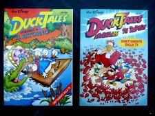 DUCK TALES Avventure di Paperi + Il Ritorno lotto 2 copie 1993 1994 Zio Paperone