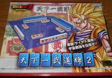 Banpresto Dragon Ball Z 2007 Japan PRIZE ONLY mini Mahjong set MIB
