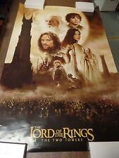 """Lord of the Rings Two Towers 22x34"""" Original Poster P12"""