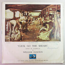 Click Go The Shears by William Clauson, Songs of Australia LP Vinyl Record
