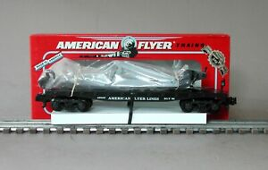 American Flyer 6-49009 Flatcar with Derrick by Lionel