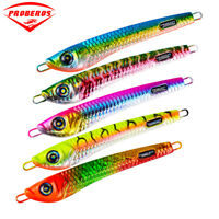 JIGGING JIG Lead fish 60-200g fishing lure 5 color fishing Baits Two Choice