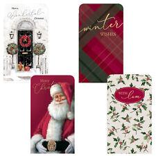 Christmas Money Wallet & Envelope Pack of 4 - Traditional Design