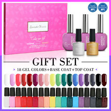 Lavender Violets 20pcs Gel Nail Polish Gift Set Soak Off UV Varnish Starter Kit