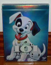 101 DALMATAS-CLASICO DISNEY Nº 17-DVD-NUEVO-NEW-FUNDA CARTON-SLIPCOVER-SIN ABRIR
