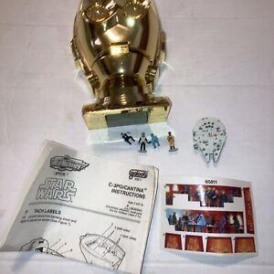 Star Wars 1994 Galoob Micro Machines Transforming Head Playset C-3PO/Cantina