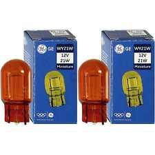 2x General Electric (Ge) Miniature WY21W 12V 21W W3x16d (gelb)