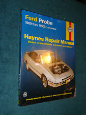 1989-1992 FORD PROBE SHOP MANUAL 91 90 + NEW UN-USED HAYNE'S SERVICE BOOK