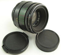 ⭐ CLA'd ⭐ HELIOS 44-2 58mm f/2 USSR Lens Screw Mount M42 Sony A Canon EOS Fuji