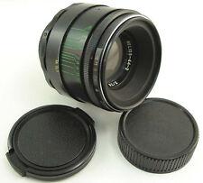 CLA'd HELIOS 44-2 58mm f/2 Russian USSR Lens Screw Mount M42 Sony A Canon EOS