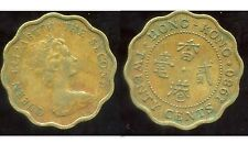 HONG KONG 20 cents 1980  ( bis )