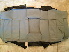 2006 Lincoln Mark LT Factory Original REAR LEATHER Seat Cover (Gray Leather)
