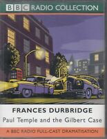 Francis Durbridge Paul Temple & Gilbert Case 2 Cassette Audio Book Cast Drama