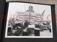 CUNARD WHITE STAR LINE RMS QUEEN ELIZABETH 15X UNPUBLISHED PHOTO ALBUM