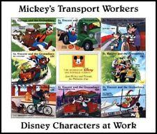 Saint Vincent Gr. klb ** MNH Disney Bike Rower Film Tales Movie (5)