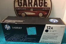 HP LaserJet 12A (Q2612A) Black Toner Cartridge - New Sealed, Slight Box Distress