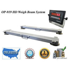 "Op-919-Hd-40""-5k Weigh Beam System / Portable Led"
