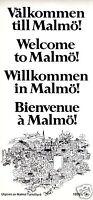 Innenstadtplan, Malmö und Übersichtskarten der Region, 1978