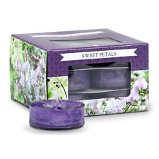 Goose Creek Scented Tea Lights - Pack of 12 - Sweet Petal. Perfect Gift
