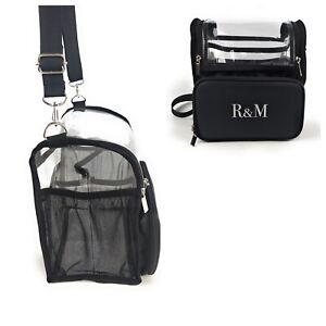 R&M BIG MAKEUP ARTIST BRUSH BAG MUA KIT  BUDDY ORGANISER BAG SHOULDER CARRY PVC