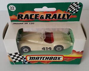 MATCHBOX MB22 CREAM 414 JAGUAR XK120 NEW IN BOX
