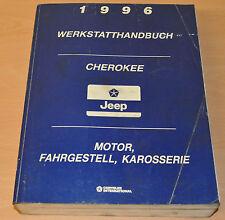 Chrysler Cherokee Jeep XJ Motor 2,5 4,0 2,5 Karosserie Werkstatthandbuch