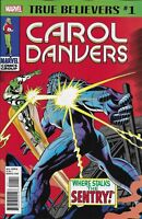 Carol Danvers Comic Issue 1 Classic Reprint True Believers Stan Lee Roy Thomas