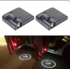2Pcs Wireless LED Car Door light Durable Logo Ghost Shadow Laser Projector UK