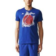 adidas US Open Men's Tennis Graphic Casual T-Shirt Navy