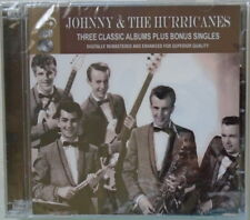 JOHNNY & THE HURRICANES - Three Classic Albums - BRAND NEW - 2 CDs