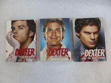 Lot of 3 DEXTER Seasons 1-2 DVD SETS Showtime Season 2 Still Sealed