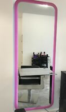 REM Oracle Styling Unit with LED Lighting, Cast Metal Shelf with dryer Holster