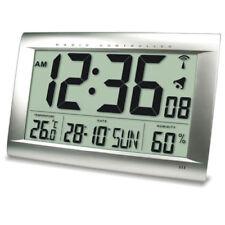 FUNKUHR TECHNOLINE WS 8009 - UHR MIT JUMBO LCD FÜR BÜRO HOTEL BAHNHOF FOYER XXL