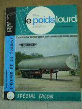 revue camions  le poids lourd special salon  octobre 1970 avec 260 pages TRAILOR