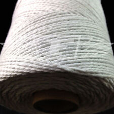 2 x 10 METERS WHITE BAKER TWINE, BUTCHERS, GARDEN, CRAFT, PARCEL, STRING 20m