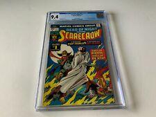 DEAD OF NIGHT 11 CGC 9.4 WHITE 1ST SCARECROW BERNIE WRIGHTSON MARVEL COMICS 1975