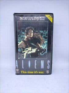 Aliens - CBS Fox VHS - Ex-Rental - Clamshell