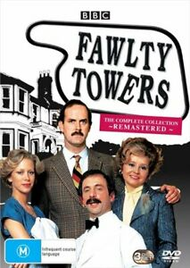 Fawlty Towers - The Complete Remastered   Box Set DVD