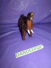 """Vintage Vinyl Wrapped Elephant Figurine Made in India 7"""""""