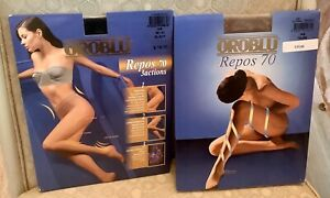 OROBLU Repos 70 Pantyhose Sm  Sz 38-40 TAUPE Other Colors Available