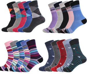 6-12 Paar Socken Damen  Socken Kinder Mädchen Strümpfe Freizeit Ohne Gummi