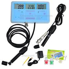 6-in-1 Multi-Function Qualité L'eau Testeur Mètre EC CF TDS PH °C °F hydroponiqe