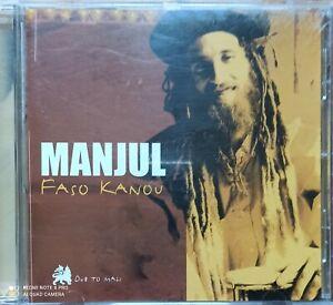 CD MANJUL Faso Kanou - Dub to Mali