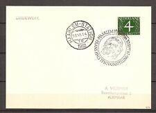 Nederland - 1962 - Briefkaart STEMPEL Frans Hals Tentoonstelling - WA080