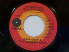"DAVE GRAY & BAKERSFIELD BRASS ""EV'RYBODY ELSE (GO TAKE A WALK) / AFTER THE BALL"""