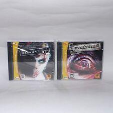 Manhunt & Manhunt 2 Set PC Uncut Extended Version Sealed New