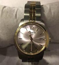Tissot Mens PR100 Stainless Sapphire Crystal Bracelet Watch T049410B